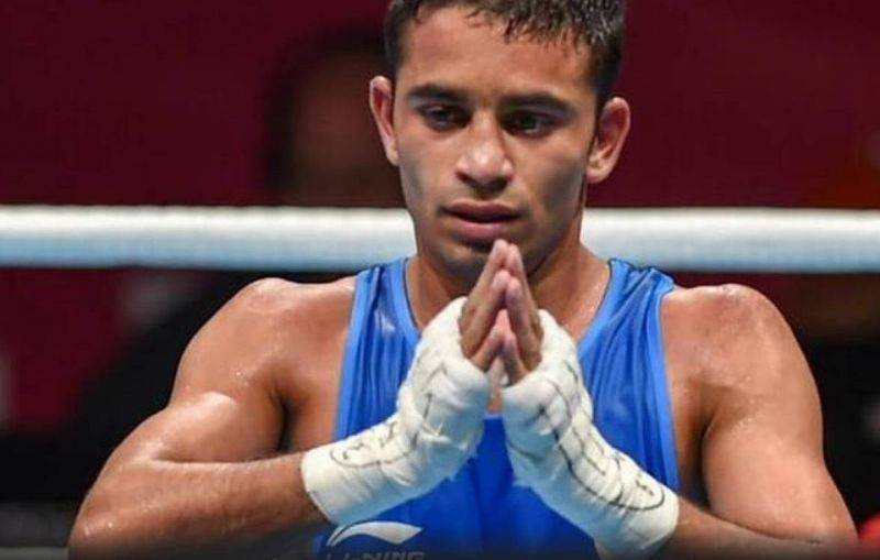 Amit Panghal - The 6th Indian boxer to qualify for the Tokyo Olympics