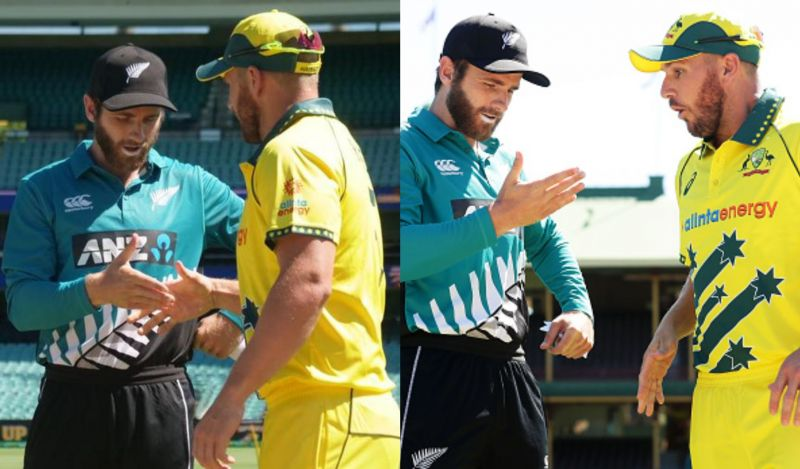 Kane Williamson and Aaron Finch
