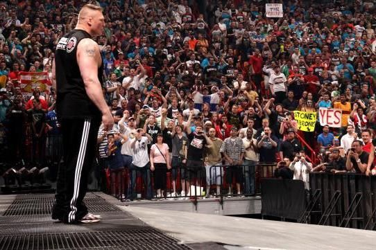 Lesnar will defend his title against McIntyre
