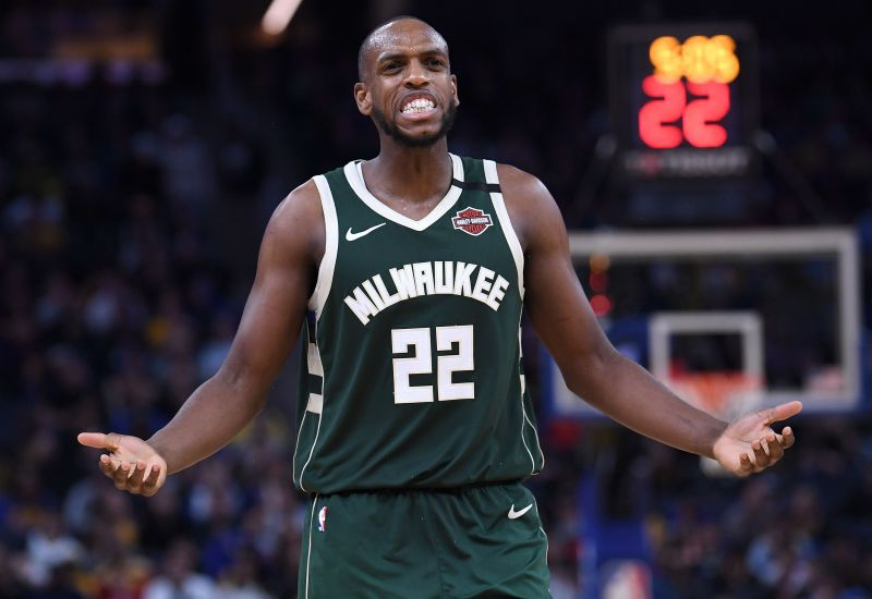 Khris Middleton has been one of the best shooters from range in the NBA this season