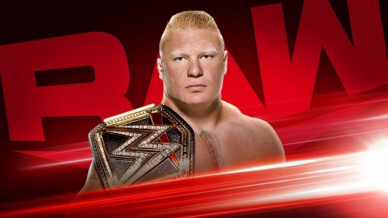 WWE Champion Brock Lesnar returns to RAW