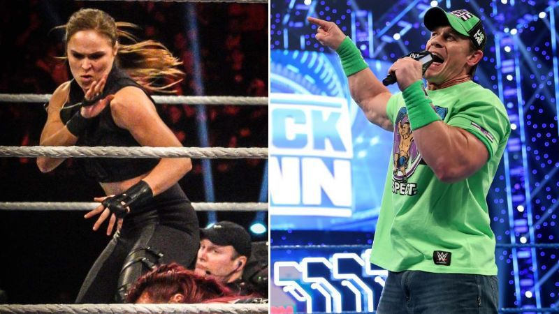 Ronda Rousey could return after WrestleMania whereas John Cena could retire