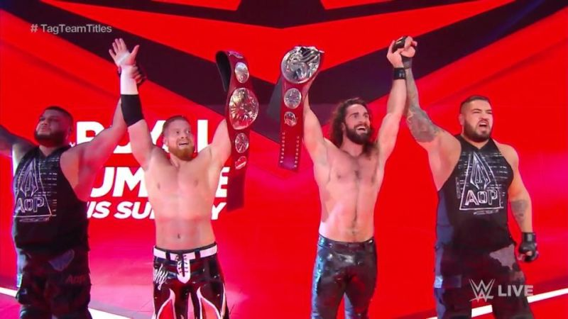 Since his heel turn, Seth Rollins has formed a stable with AOP and Buddy Murphy