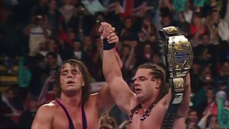 Bulldog celebrating his IC title win in his home country
