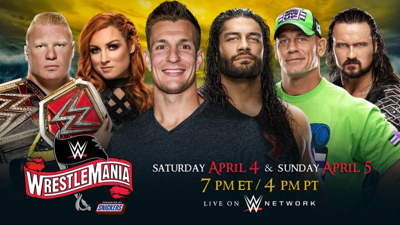 The WWE and Universal Championship matches have been split up
