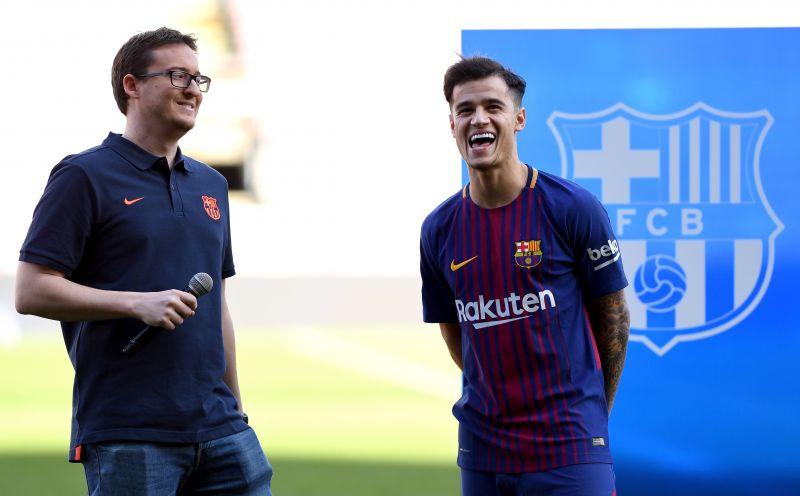 Barcelona unveil Philippe Coutinho