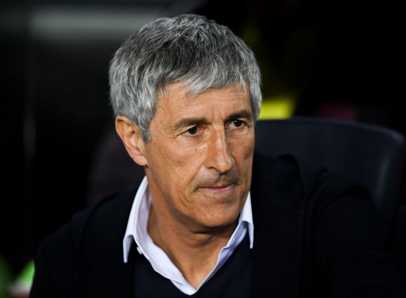 Quique Setien, after a promising start, is failing to get the best out of Lionel Messi and Antoine Griezmann