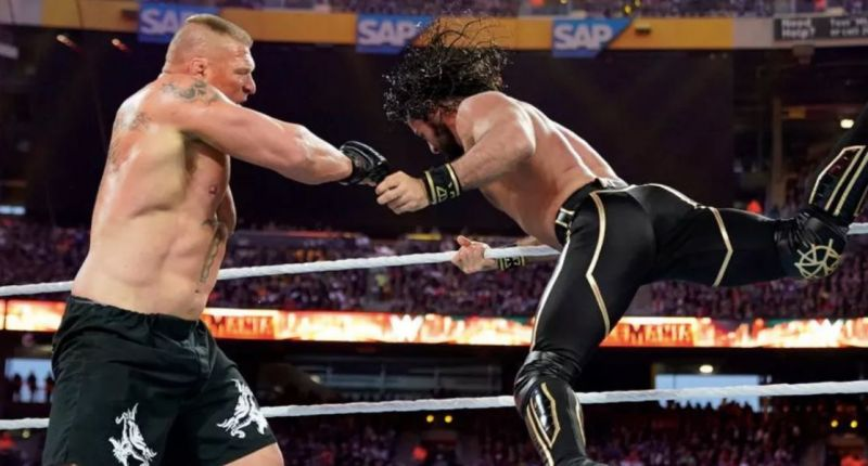 Seth Rollins finally toppled The Beast
