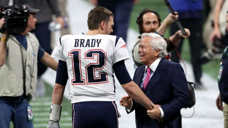 Tom Brady and Robert Kraft - cropped