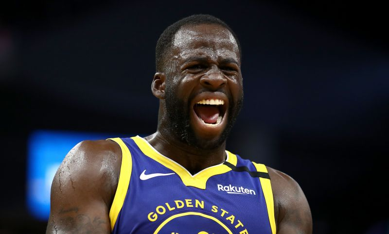 Draymond Green is doubtful for the game against the Toronto Raptors