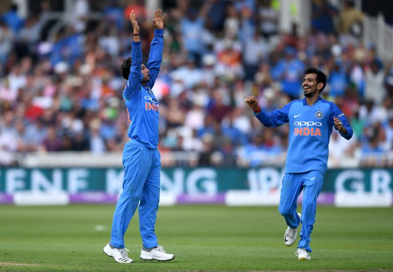 Kuldeep and Chahal made life difficult for the batsmen