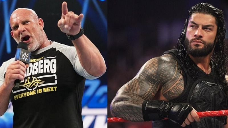Reigns will look to become the new Universal champion by beating Goldberg at WrestleMania 36.