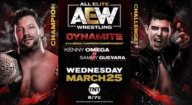 Kenny Omega defends the AAA Mega Championship