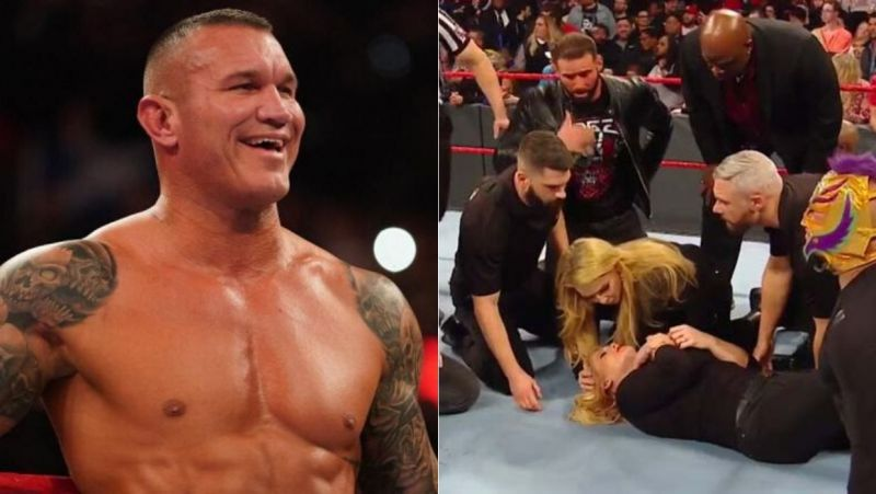 Orton attacked Phoenix on RAW