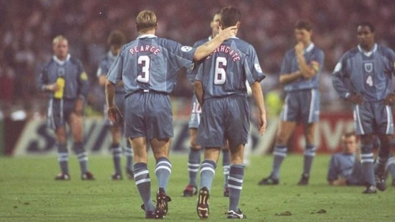 England infamously failed to end 30 years of hurt at Euro 96