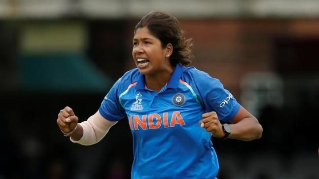 Jhulan Goswami is the only woman