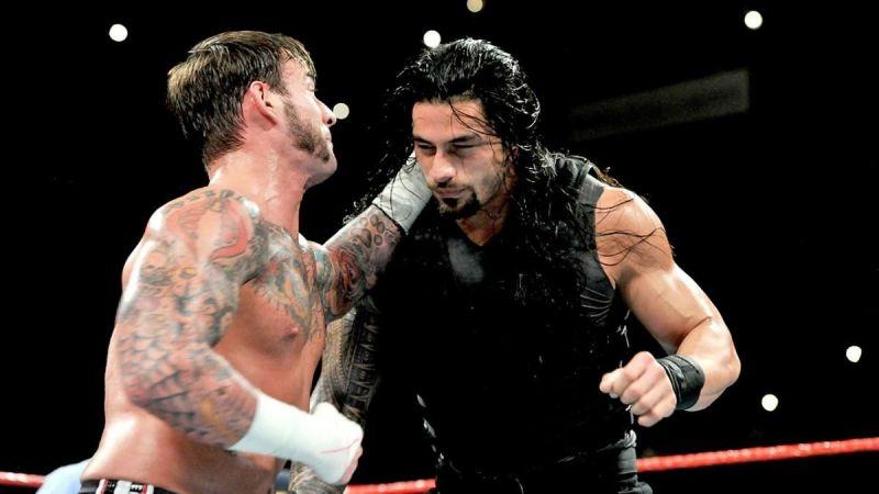 CM Punk and Roman Reigns