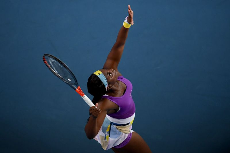 Sloane Stephens scored the first win of 2020 in the first round of the tournament