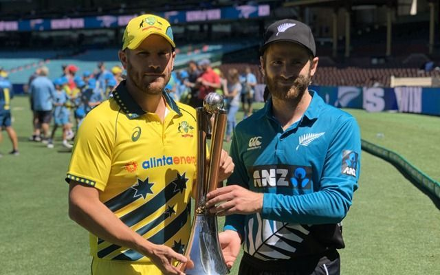 The first ODI between Australia and New Zealand was held behind closed doors