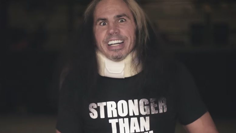 Matt Hardy names four of the top brands in America as possible landing spots