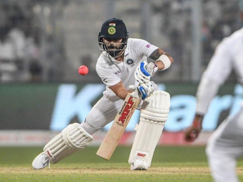 Kohli scored a century in India