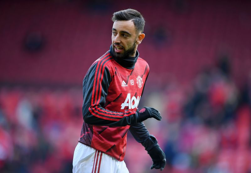 Bruno Fernandes is the apple of Manchester United fans