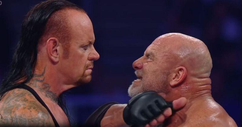 Undertaker and Goldberg