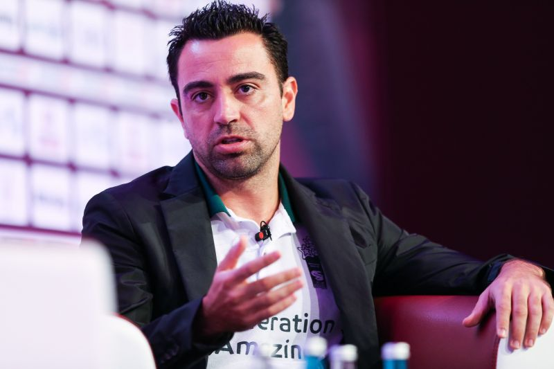 Xavi has long been considered a future potential Barca manager.