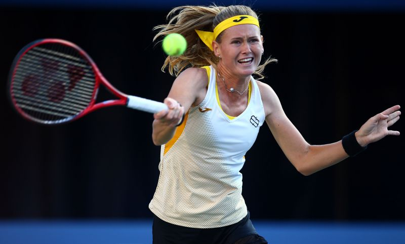 Marie Bouzkova is yet to win her first WTA title