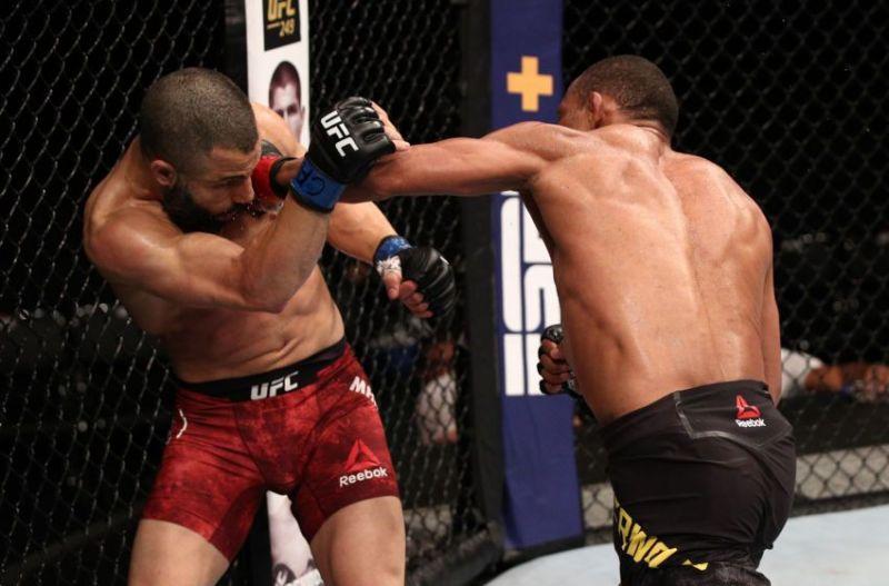 The lack of crowd noise made fights like Francisco Trinaldo vs. John Makdessi feel slow