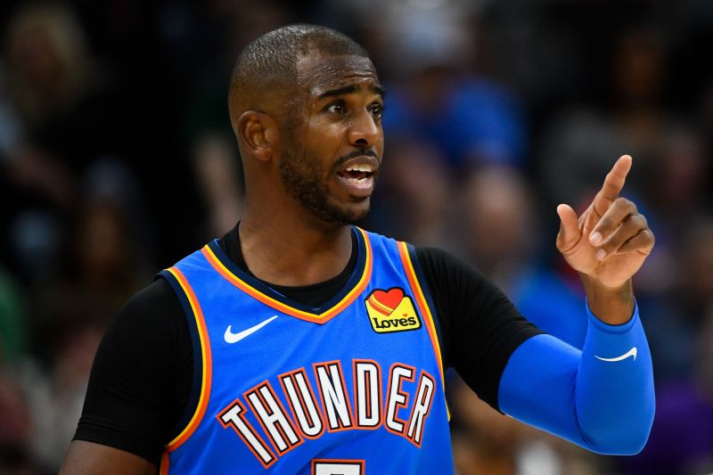 Chris Paul has been monumental for the Oklahoma City Thunder this season
