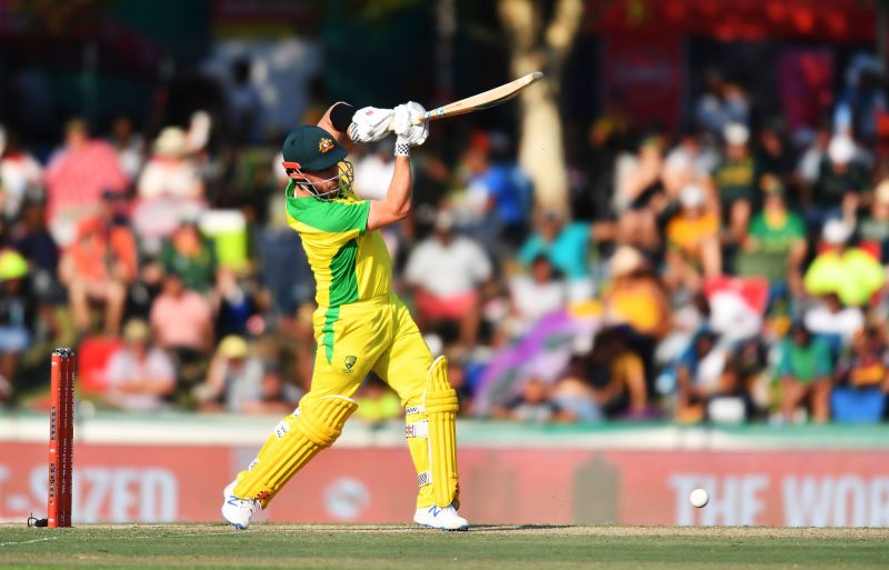 Aaron Finch, one part of a world beating opening partnership
