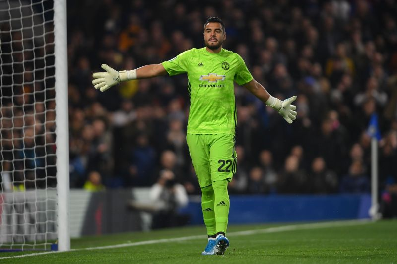Sergio Romero made five saves in the game
