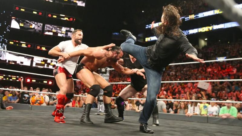 Remember when Undisputed Era attacked Drew McIntyre in NXT?