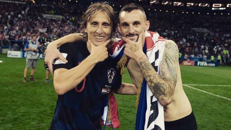 Marcelo Brozovic and Luka Modric lead Croatia to the 2018 World Cup final in Russia