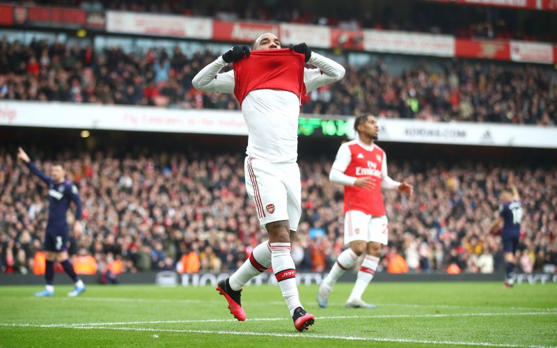 Lacazette came on to score the winning goal