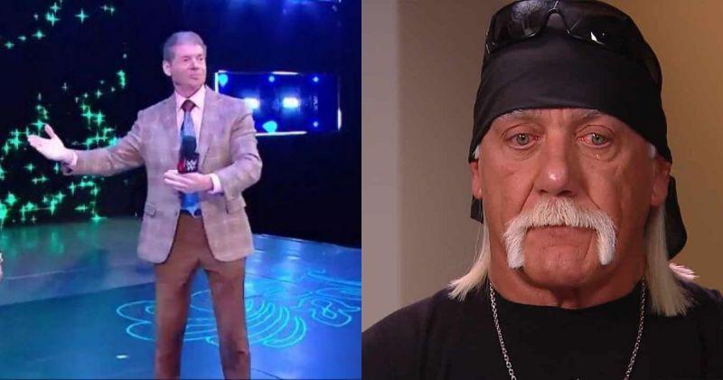 Vince McMahon and Hulk Hogan