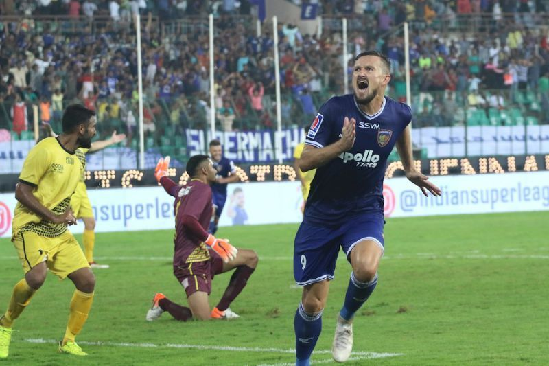 Can Valskis power Chennaiyin to the ISL trophy?