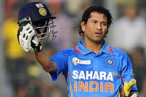 Sachin Tendulkar scored his first ODI hundred against Bangladesh in that match