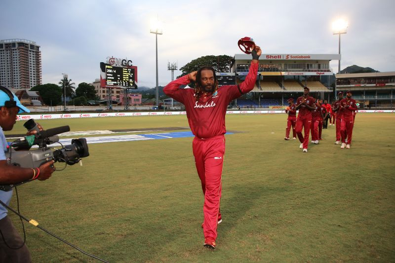 West Indies batsman Chris