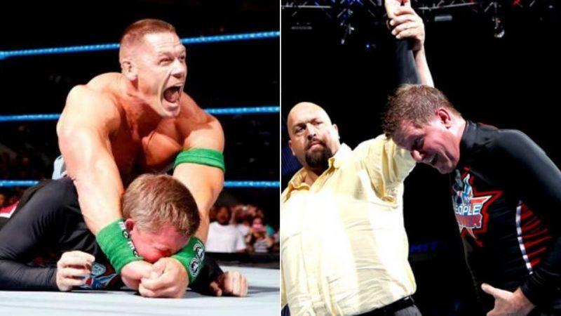 John Laurinaitis beat Cena at Over The Limit 2012