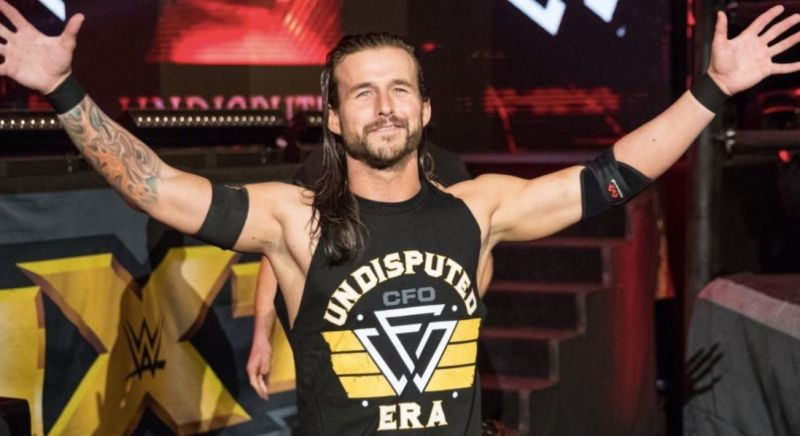NXT शो के दौरान एडम कोल