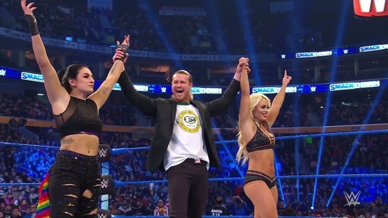 Ziggler helped out his new friends