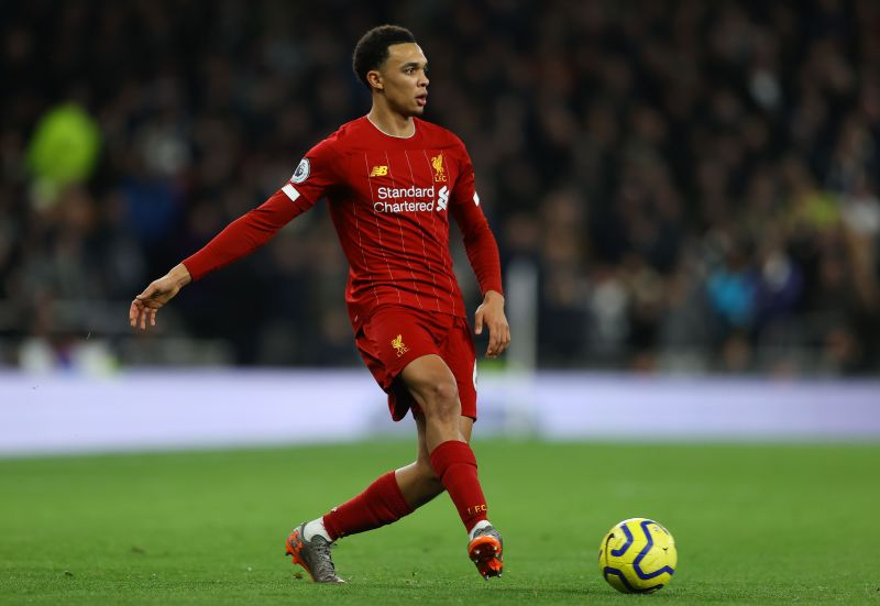 Trent Alexander-Arnold has registered 12 assists for Liverpool this season