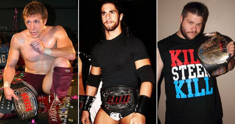 Bryan, Rollins, and Owens are three of top stars in WWE today