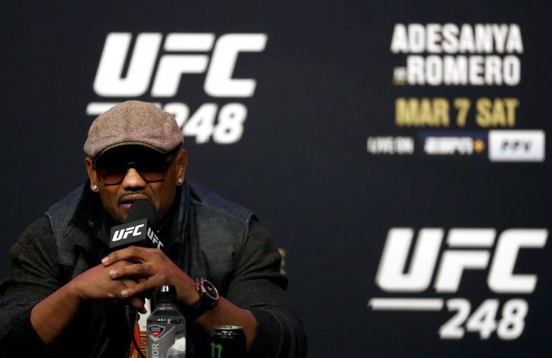 UFC 248 press conference