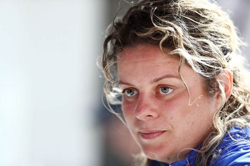 Kim Clijsters is eyeing her first win after her comeback
