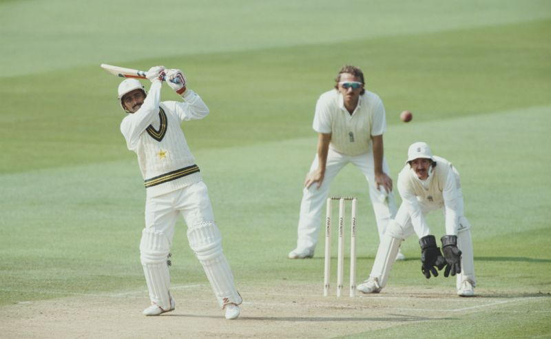 Javed Miandad versus England in 1992