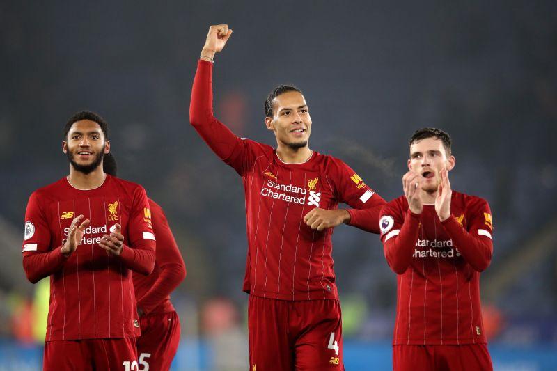 Van Dijk has helped Liverpool keep 12 clean sheets this season