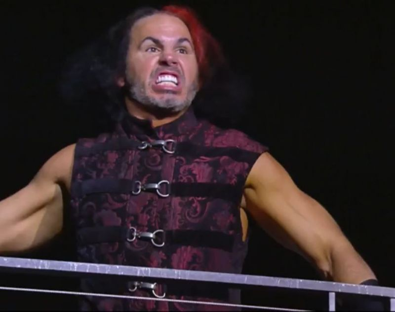 Matt Hardy recently made his AEW debut